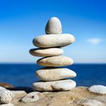 pebbels start meditation